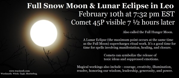 Full Snow Moon in Leo