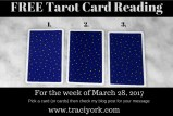 March 28 2017 Tarot