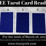 March 28 2017 Tarot