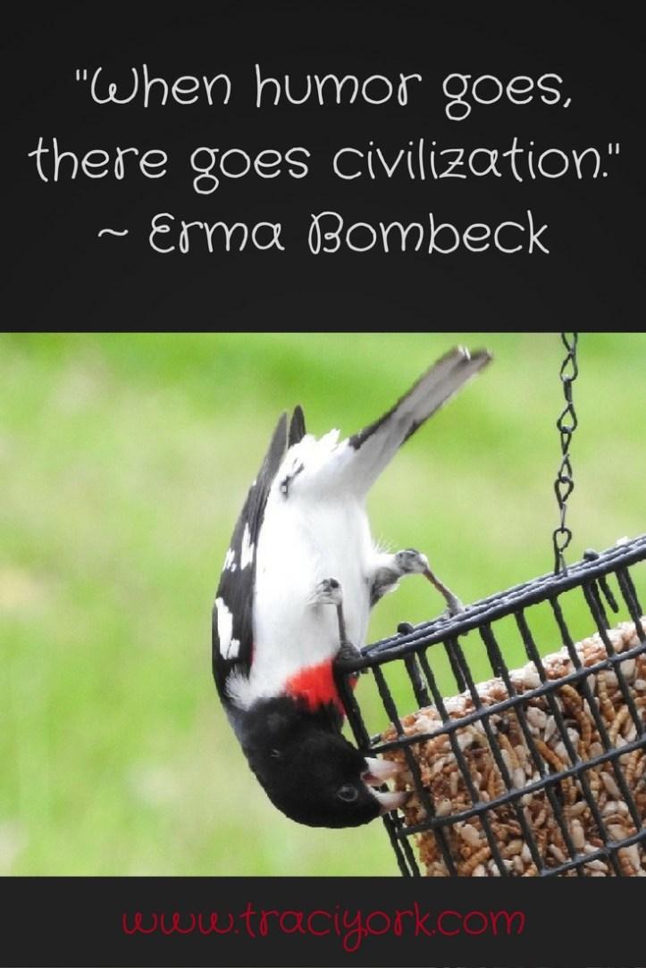 Quote Challenge Week 5 Erma Bombeck Quote