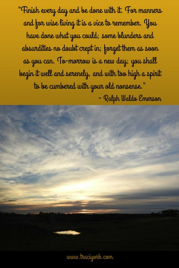Quote Challenge Week 5 Ralph Waldo Emerson Quote