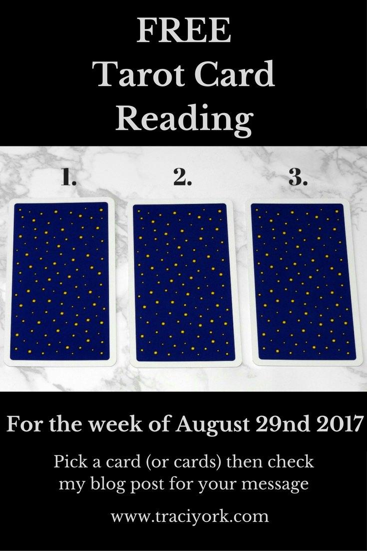 August 29th 2017 Tarot, blog graphic