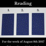 August 8 2017 Tarot, Blog Graphic