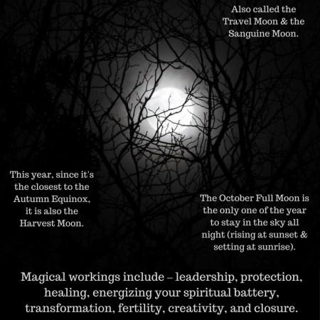 Full Hunter Moon in Aries October 2017