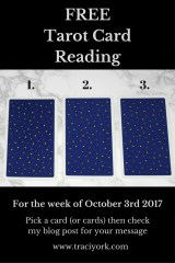 October 3rd 2017 FREE Tarot Card Reading