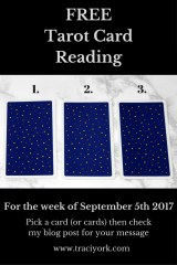 September 5th 2017 Tarot, blog graphic