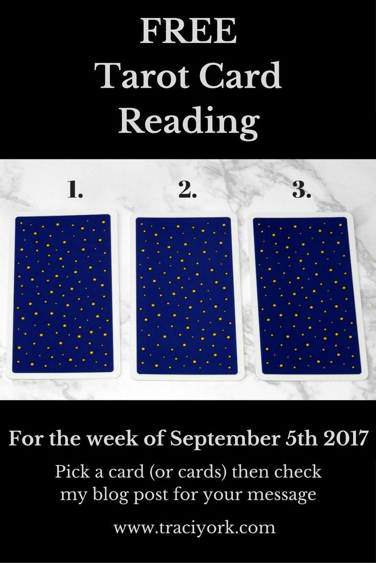 September 5th 2017 Tarot, blog graphic