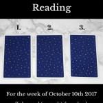 October 10th 2017 Tarot