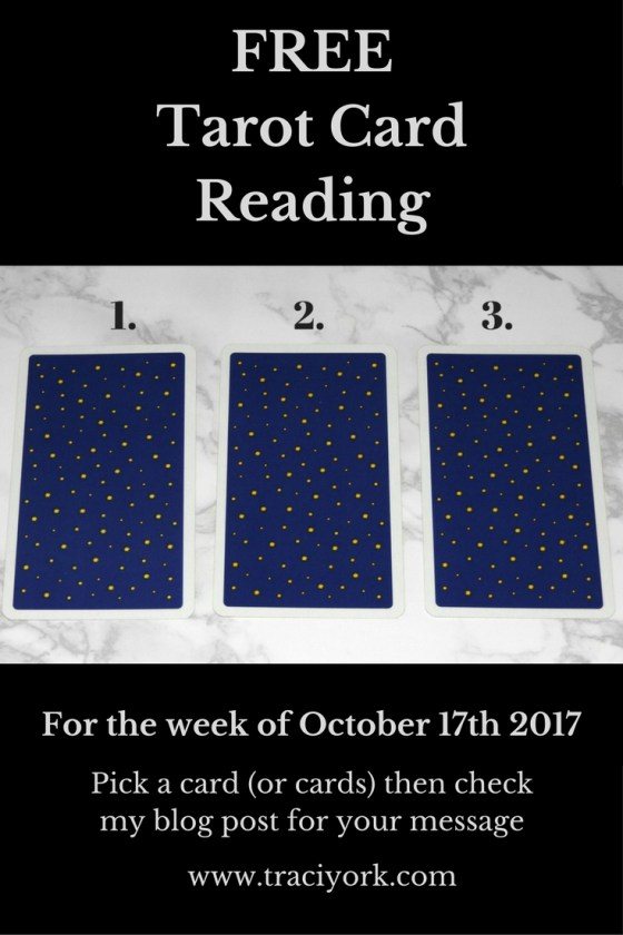 October 17th 2017 Tarot