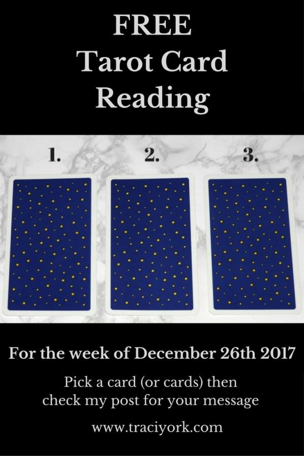 December 26th 2017 Tarot, blog graphic