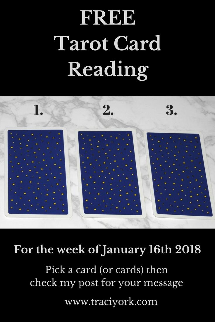 January 16th 2018, FREE Tarot Card Reading