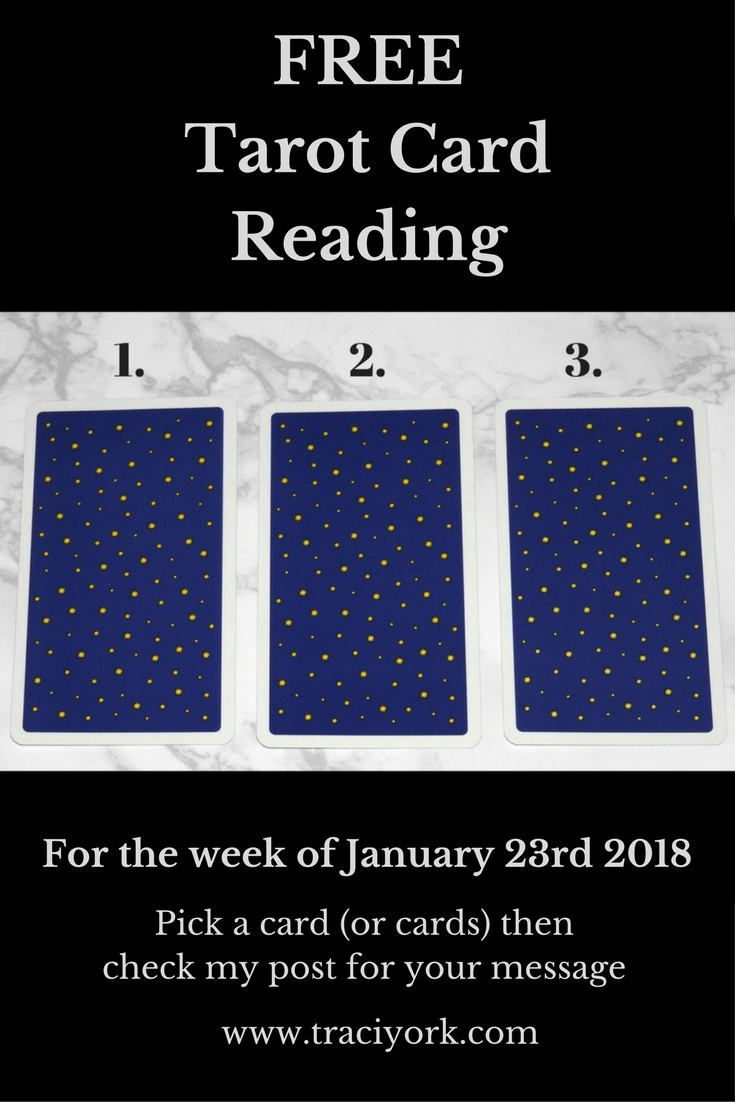 January 23rd 2018 Tarot