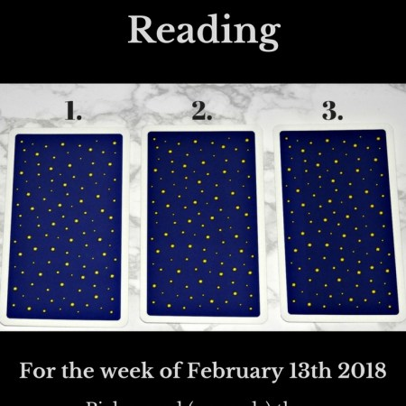 February 13th 2018 Tarot