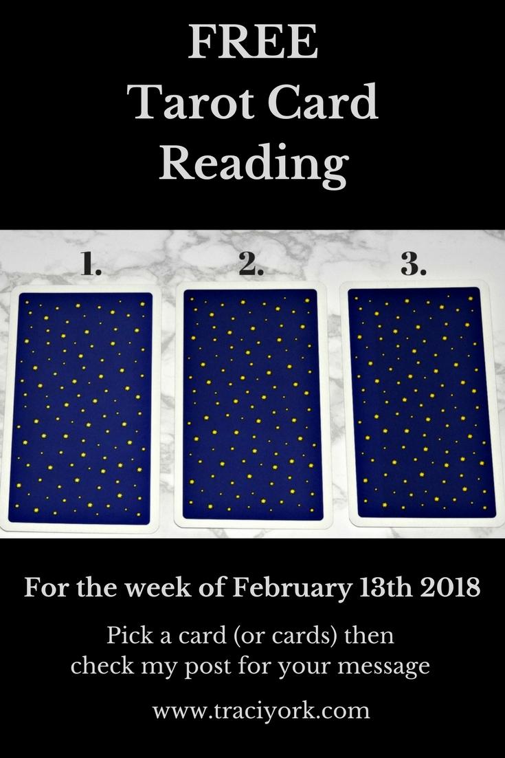 February 13th 2018 Tarot