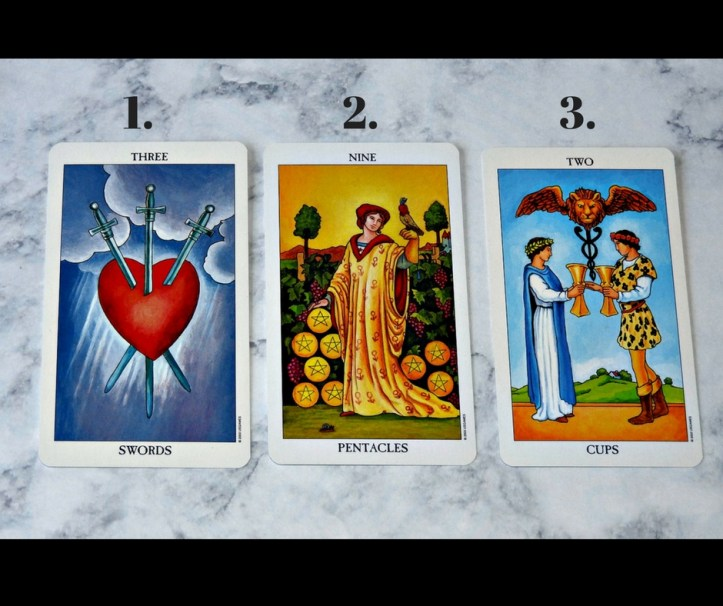 April 3rd 2018 Tarot
