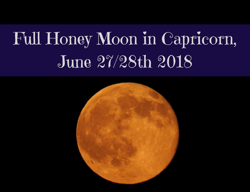 Full Honey Moon in Capricorn