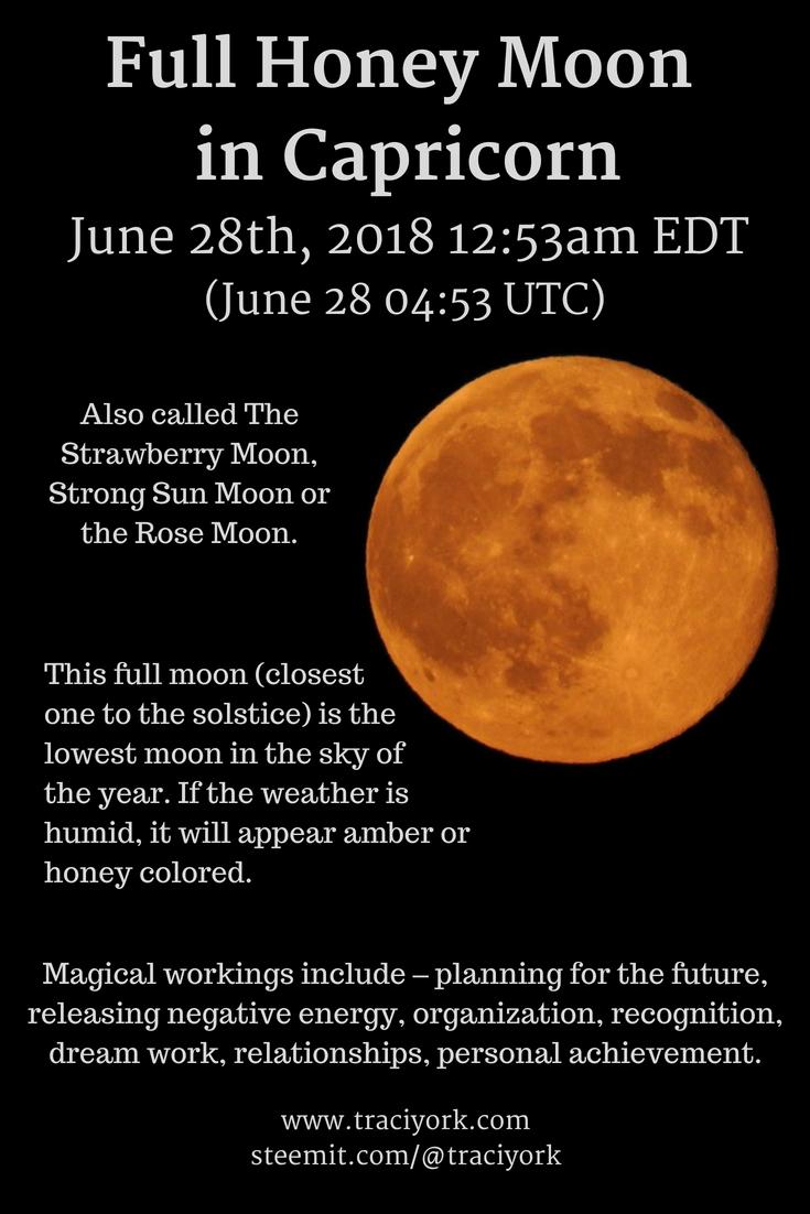 Full Honey Moon in Capricorn