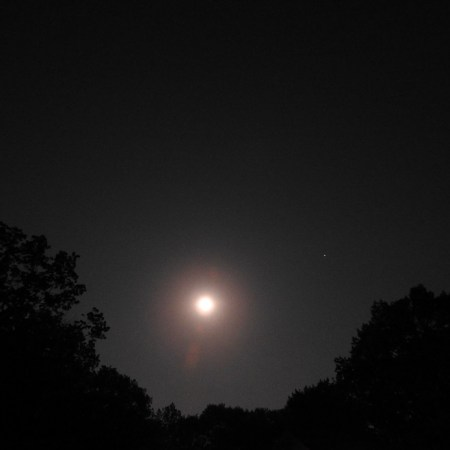 Full Moon, May 29th - before, during, and after