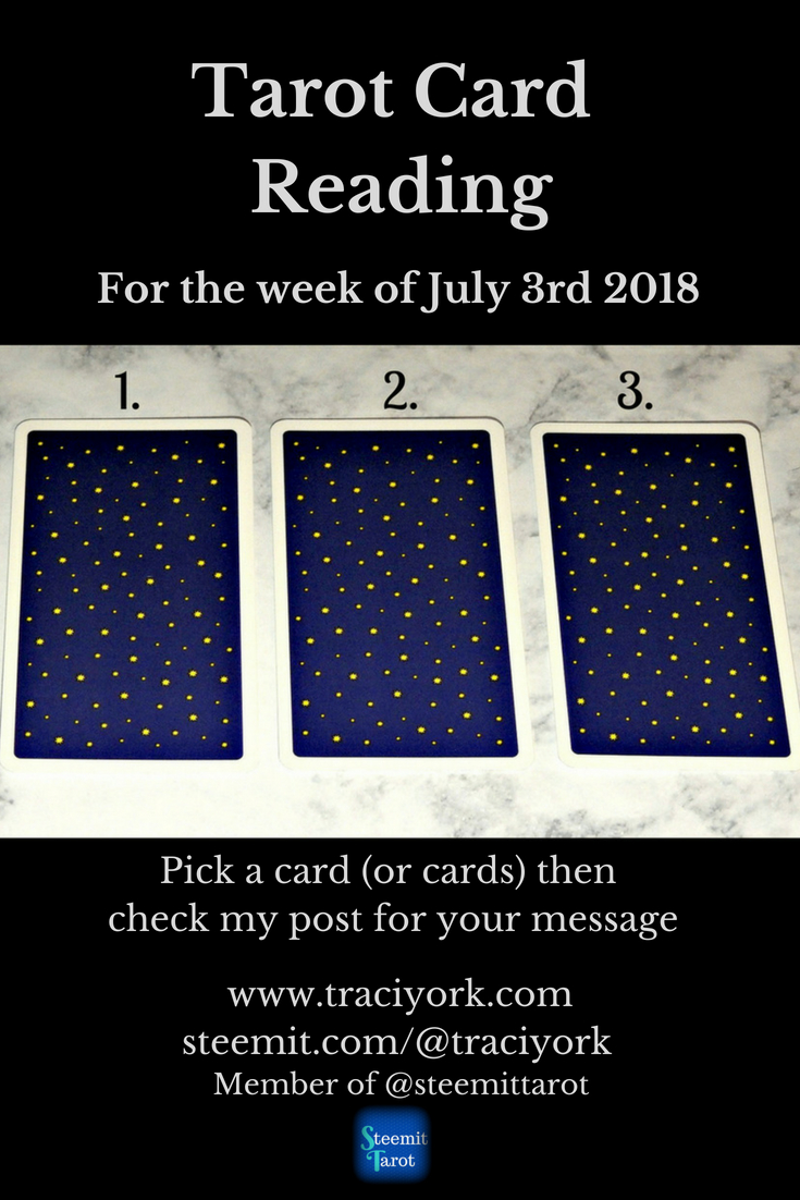 July 3rd 2018 Tarot Blog Graphic