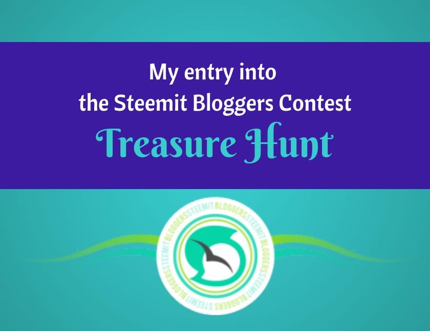c450f250215 My entry into the Steemit Bloggers Contest - Treasure Hunt - Traci York