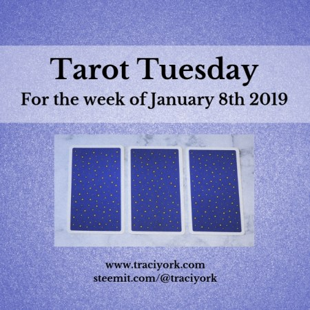 January 8 2019 Tarot Tuesday new years colors blog thumbnail
