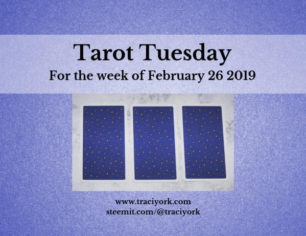 February 26 2019 Tarot Tuesday new years colors blog thumbnail