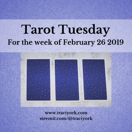 February 26 2019 Tarot Tuesday new years colors blog thumbnail