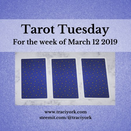 March 12 2019 Tarot Tuesday new years colors blog thumbnail