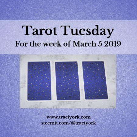 March 5 2019 Tarot Tuesday new years colors blog thumbnail