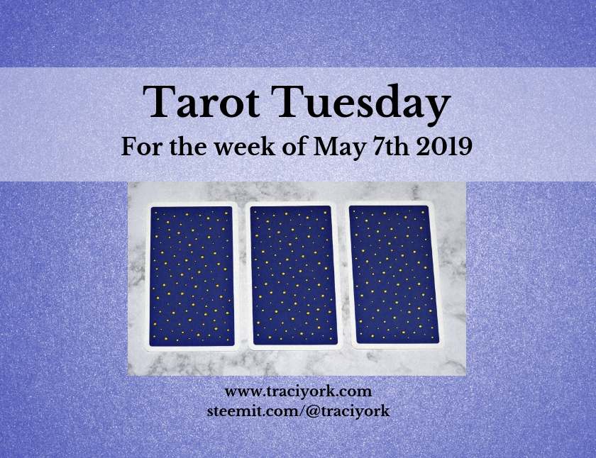 May 7th 2019 Tarot Tuesday blog thumbnail