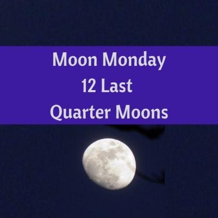 12 Last Quarter Moons