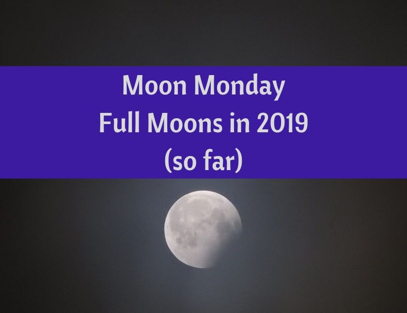 Moon Monday - Full Moons in 2019 (so far) blog thumbnail