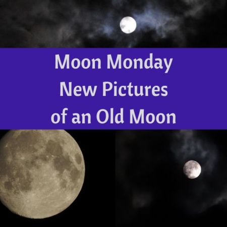 Moon Monday - New Pictures of an Old Moon blog thumbnail