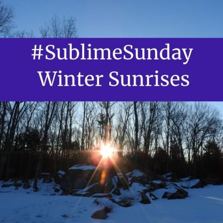 #SublimeSunday - Winter Sunrises blog thumbnail