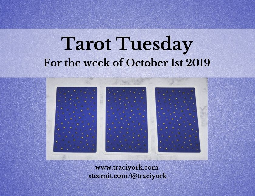 October 1st Tarot Tuesday thumbnail