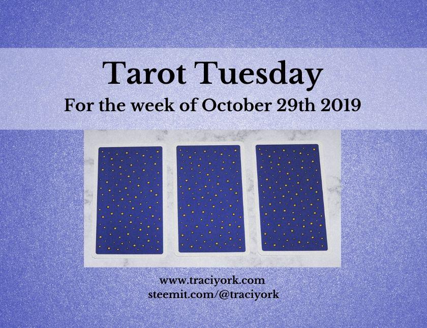 October 29th Tarot Tuesday thumbnail