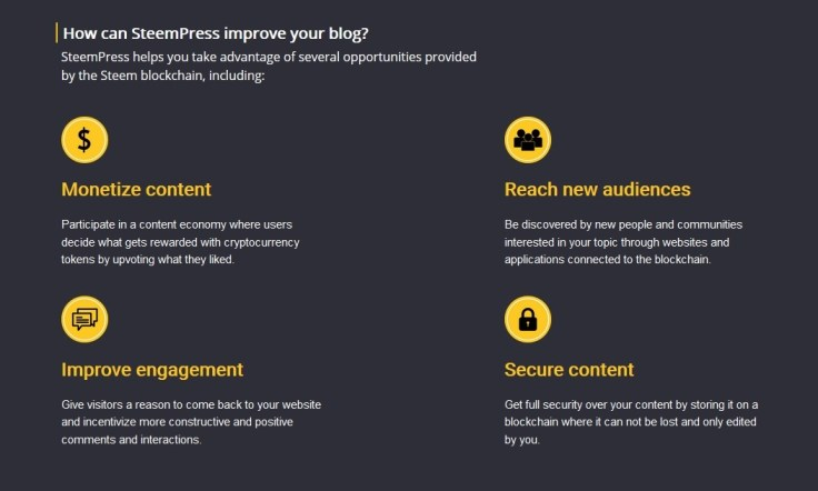 Why WordPress.com bloggers should give the SteemPress plugin a try