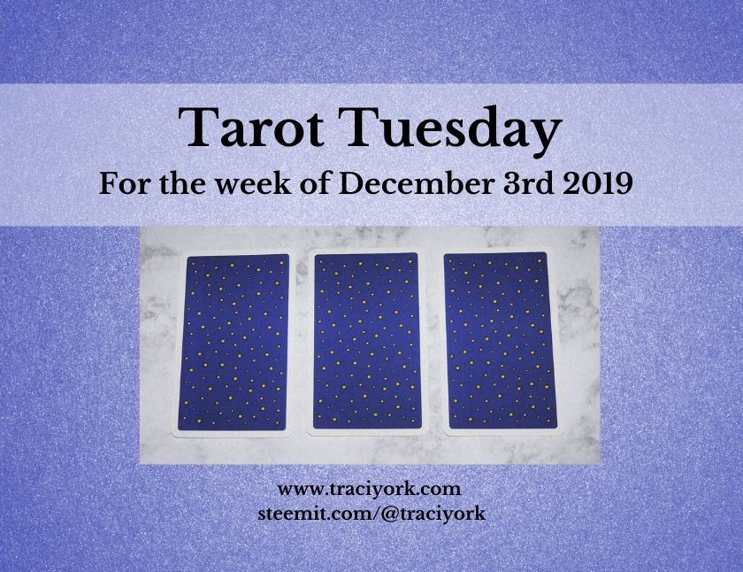 December 3rd 2019 Tarot Tuesday thumbnail
