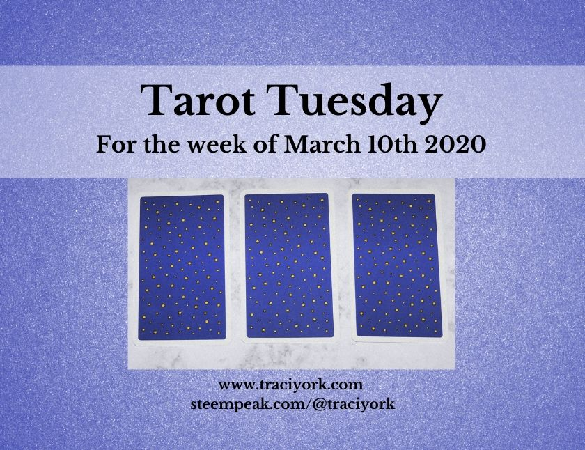 March 10th 2020, Tarot Tuesday thumbnail