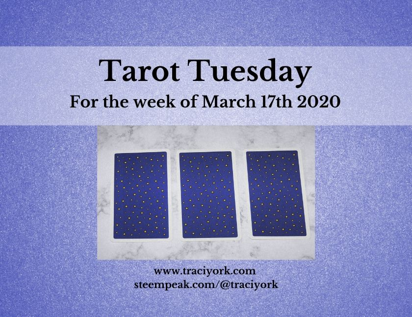 March 17th 2020, Tarot Tuesday thumbnail