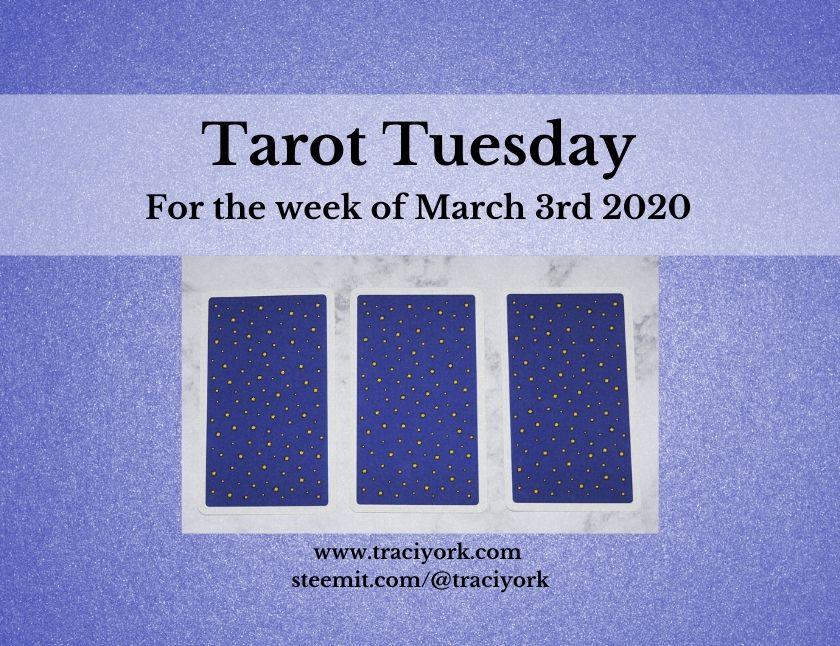 March 3rd 2020, Tarot Tuesday thumbnail