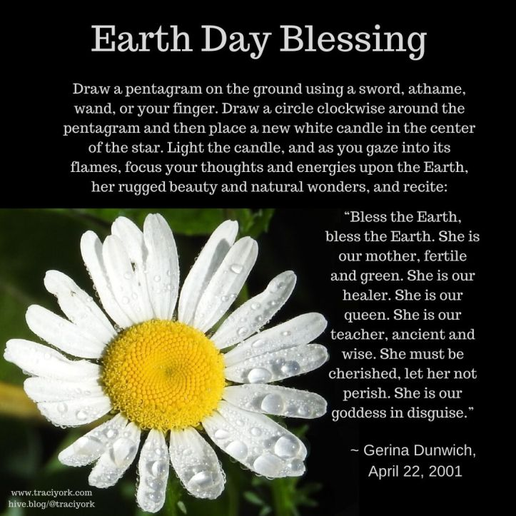 Earth Day Blessing 2020, Gerina Dunwich