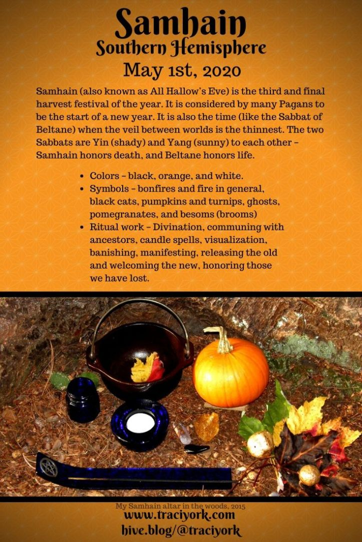 For #MicroblogMondays - Infographics for Beltane & Samhain