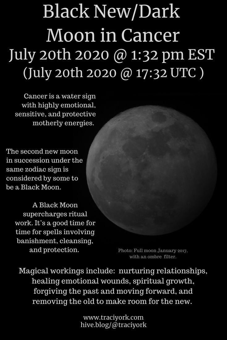 Black New_Dark Moon in Cancer July 2020 Pinterest size