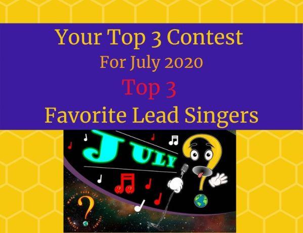 Top 3 Favorite Lead Singers blog thumbnail