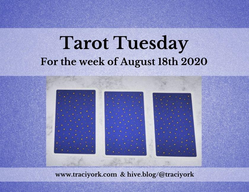 August 18th 2020, Tarot Tuesday thumbnail