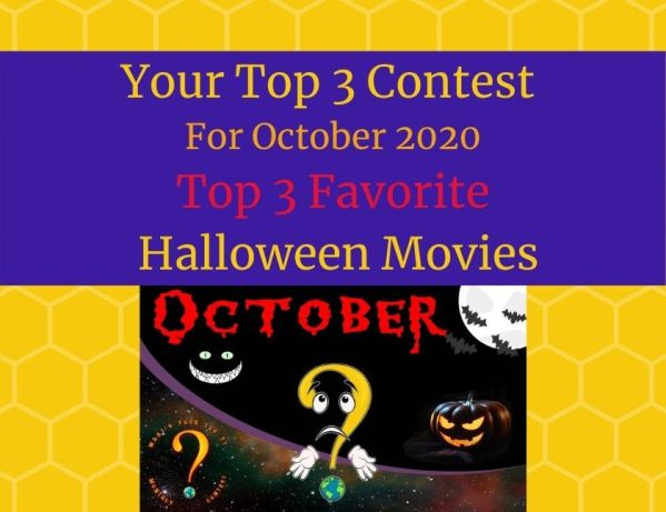 October 2020 Top 3 Halloween Movies blog thumbnail