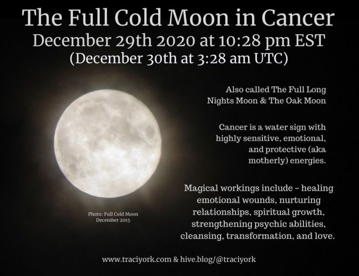 Full Cold Moon in Cancer December 29 Instagram sized