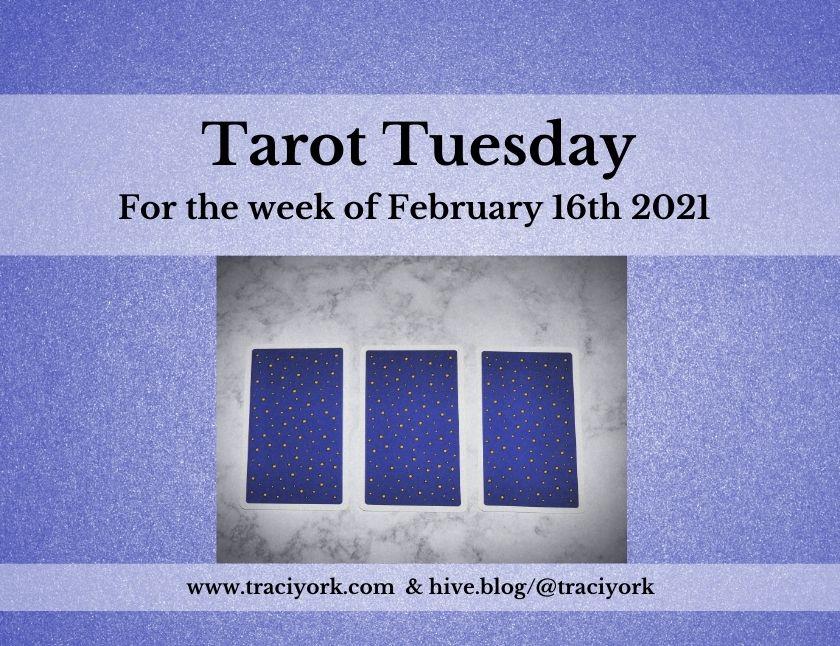 February 16th 2021,Tarot Tuesday thumbnail
