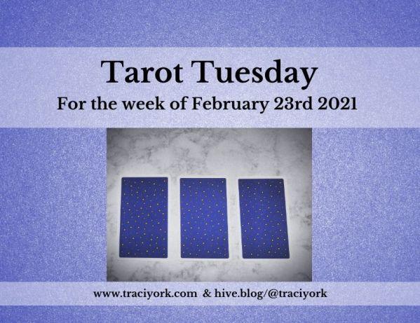 February 23rd 2021,Tarot Tuesday thumbnail